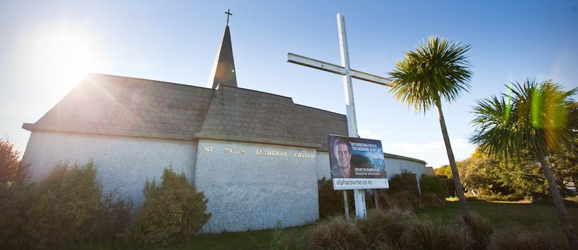 St Pauls Lutheran Church, Christchurch